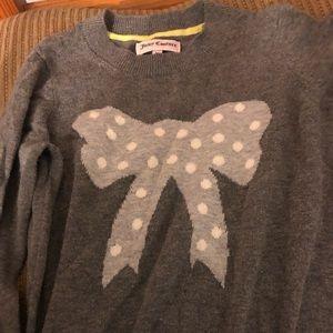 Girls medium juicy couture sweater